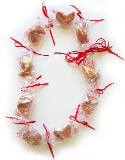 Fortune Cookie Lei