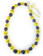 Louisiana State University Kukui Nut Lei