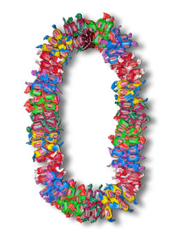 Giant Dubble Bubble Lei - Graduation Leis